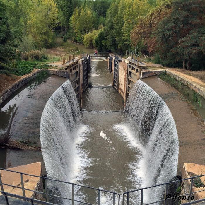 Calahorra de Ribas Esclusas del Canal de Castilla