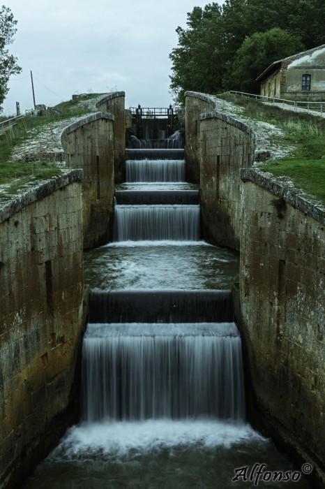 Esclusa Cuadruple Fromista Ramal Norte Esclusas del Canal de Castilla