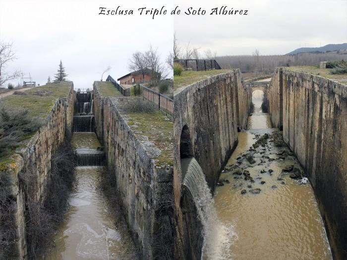 Soto Alburez Esclusas del Canal de Castilla