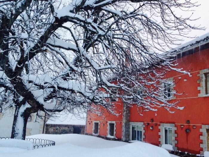 Guardo nieve Palencia febrero 2015