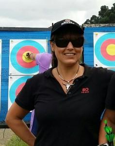 BO entrenando dianas tiro con arco Palencia