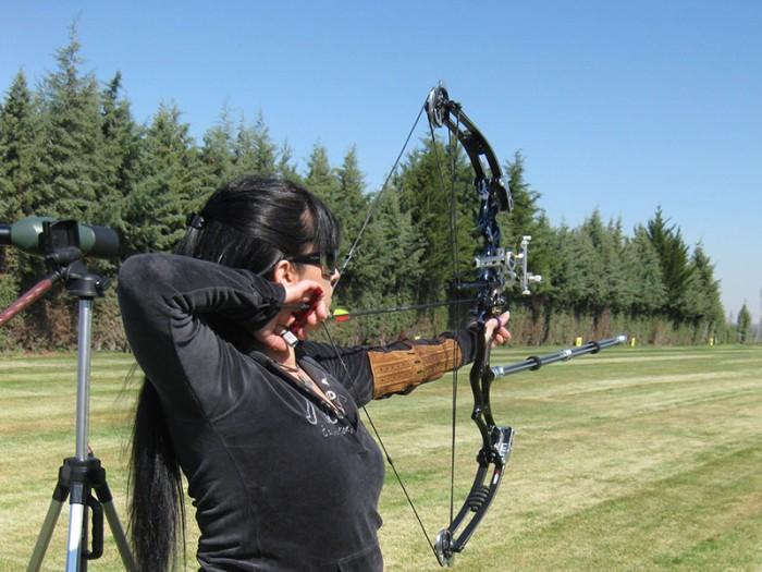 BO-entrenando--tiro-con-arco-Palencia