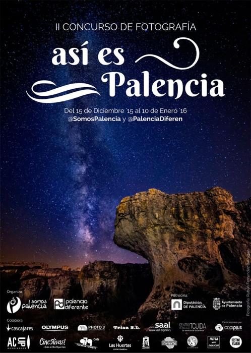 Cartel-Así-es-Palencia,-II-concurso-de-fotografía-2015_16,-Somos-Palencia-y-Palencia-diferente