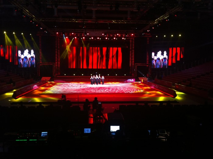 Selección española gimnasia rítmica 2014 Corea