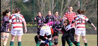 Rugby femenino Palencia en la liga de Castilla y león