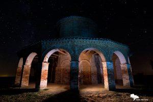 la ermita de Cristo del Amparo de Cisneros, fría. Palencia diferente